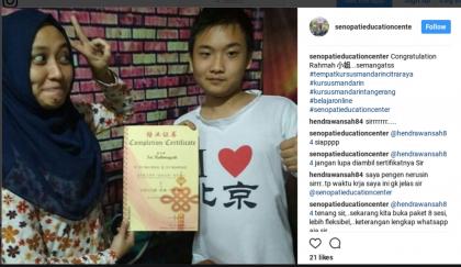 Belajar Bahasa Mandarin Menyenangkan bersama SEC