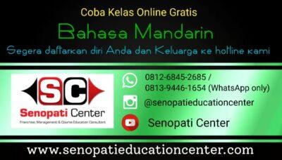 coba kelas online gratis Bahasa Mandarin
