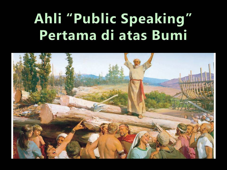 Ahli Public Speaking pertama di muka bumi