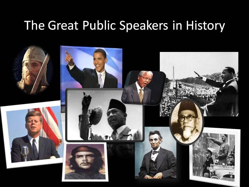 Public Speakers di dunia