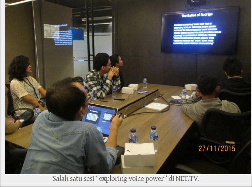Kelas Public Speaking di Senopati Education Center